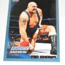BIG SHOW - 2010 Topps WWE Blue #22 - #1428 of 2010 made