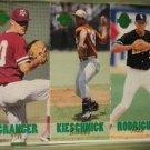 Alex Rodriguez 1993 Classic Four Sport Tri-Cards Rookie Card