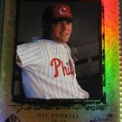 Pat Burrell 1999 SP Top Prospects Rookie Card