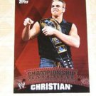 CHRISTIAN - 2010 Topps WWE Championship Material PUZZLE