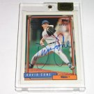 2015 Topps Archives Signature David Cone - 1992 Topps #16/55 Autograph