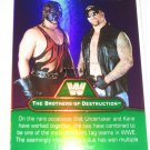 KANE UNDERTAKER ROAD WARRIORS 2010 Topps WWE Platinum Legendary Superstars GREEN