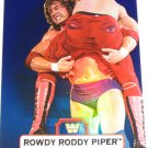 RODDY PIPPER - 2010 Topps WWE Platinum Blue Refractor #121 - #075 of 199 made
