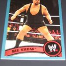 BIG SHOW - 2011 Topps WWE Blue #56 - #0994 of 2011 made