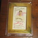 2014 Topps Allen & Ginter Framed Mini Autograph Red Ink Andrew Lambo #/10
