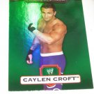 CAYLEN CROFT - 2010 Topps WWE Platinum Green Refractor #124 - #318 of 499 made