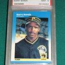 1987 Fleer Barry Bonds Rookie Card PSA 9