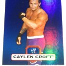 CAYLEN CROFT - 2010 Topps WWE Platinum Blue Refractor #124 - #088 of 199 made