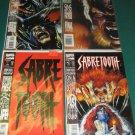 Sabretooth (1993 - 1st Series) #1-4 - Complete Full Run Set - Marvel Comics
