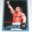 BRITISH BULLDOG - 2011 Topps WWE Blue #90 - #1308 of 2011 made