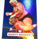 DUSTY RHODES - 2010 Topps WWE Platinum Blue Refractor #63 - #038 of 199 made