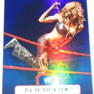 ALICIA FOX - 2010 Topps WWE Platinum Blue Refractor #125 - #092 of 199 made