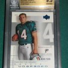 2001 UD Graded Josh Heupel Rookie Card #038 of 900 - BGS 9.5 (with 1- 10)
