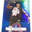R-TRUTH - 2010 Topps WWE Platinum Blue Refractor #88 - #019 of 199 made