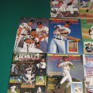Atlanta Braves Beckett More Baseball Magazine Collection Lot of 12 Chipper Jones