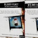 Horrorclix Plot Twist Cards Victim Tokens Set LE Unique #M3A-#M3D