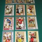 2006 Press Pass SE Football Old School Set of 25- REGGIE BUSH JAY CUTLER AJ HAWK