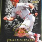 Juan Gonzalez 1998 Leaf Fractal Materials Gold Leaf Stars Plastic #0661 of 3250