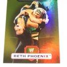 BETH PHOENIX - 2010 Topps WWE Platinum GOLD Refractor #24 - #20 of 50 made