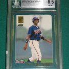 2001 Topps Traded Wilson Betemit Rookie Card BGS 8.5 (with 1- 9.5)