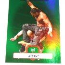 JTG - 2010 Topps WWE Platinum Green Refractor #20 - #143 of 499 made