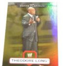 TEDDY LONG - 2010 Topps WWE Platinum GOLD Refractor #65 - #50 of 50 made