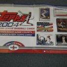 2004 Topps Baseball Promo Poster Albert Pujols George Washington Garciaparra