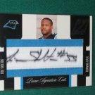 2005 Zenith Prime Signature Cut Autograph Eric Shelton Rookie Card #12 of 99