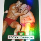 ROCKY JOHNSON - 2010 Topps WWE Platinum Green Refractor #69 - #202 of 499 made