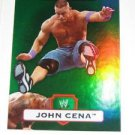 JOHN CENA - 2010 Topps WWE Platinum Green Refractor #1 - #293 of 499 made