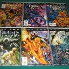Fantastic Four The End (2006) #1-6 - Complete Full Run Set - Marvel Comics