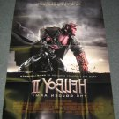 Hellboy 2 The Golden Army LARGE DOUBLE SIDED Movie Promo Poster