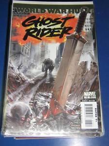 Ghost Rider (2006-2009 - 4th Series) #13 - Marvel Comics - World War Hulk