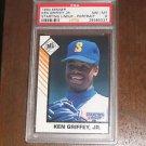 1993 Kenner Starting Lineup Ken Griffey Jr (Portrait) - PSA 8 *POP 39* SLU