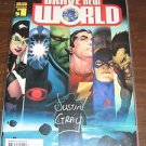 Brave New World (2006) Dynamic Forces Signed Justin Gray #1 - DC Infinite Crisis