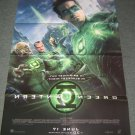 Green Lantern LARGE DOUBLE SIDED MOVIE THEATER PROMO POSTER DC Comic