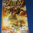 Flash Fastest Man Alive (2006) #1 Ken Lashley Signed DYNAMIC FORCES - 1 of 1000