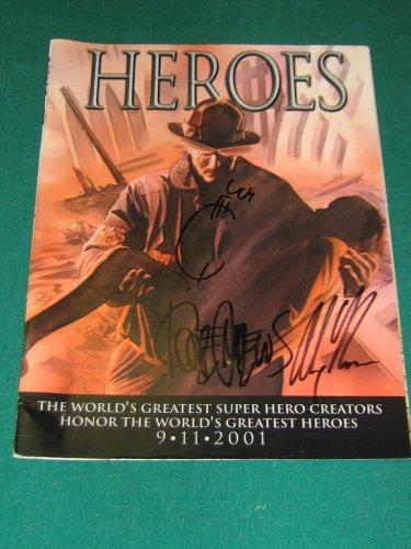 Heroes (2001) #1 - Marvel Comics SIGNED by Alex Ross, Joe Quesada, Kaare Andrews