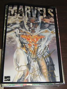 Marvels (1994) #3 Dynamic Forces Signed Kurt Busiek & Alex Ross - Marvel #/1250