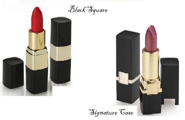 Pearl Lipstick with Signature & Black Square packaging