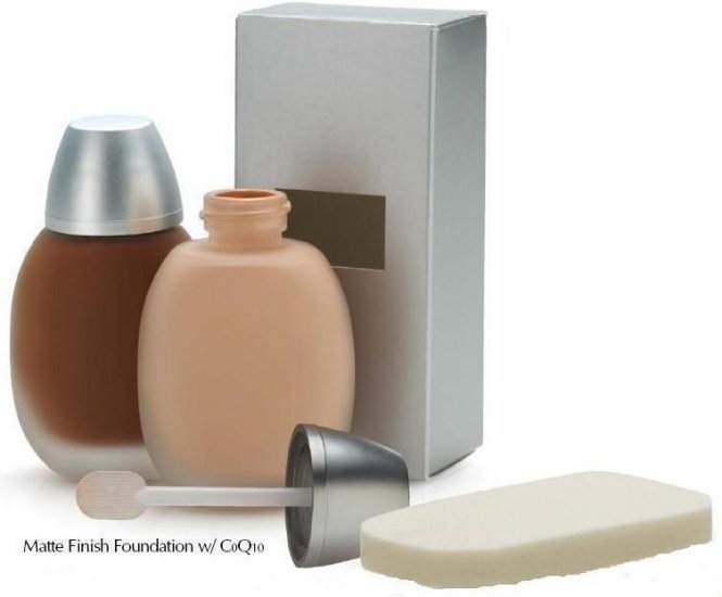 Matte Finish Liquid foundation with CoQ10