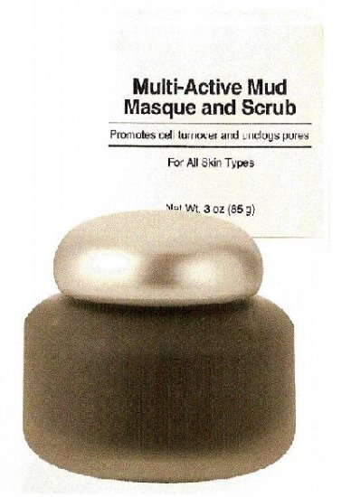 Multi- Active  Mud Masque and Scrub