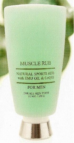 Muscle Rub - For men but also Great for Women