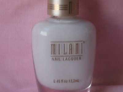 MILANI FRENCH Manicure NAIL Polish #301 WHITE Solid Matte White