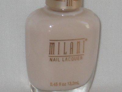 MILANI FRENCH Manicure NAIL Polish #304 LINEN Very Light off-white