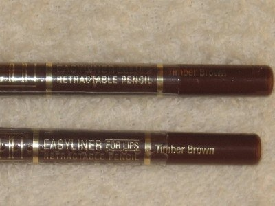 2 MILANI EASYLINER RETRACTABLE LiP Liner Pencils TIMBER BROWN LipLiner MED DarK BrowN NEW SEALED