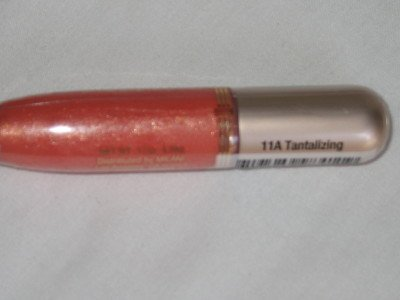 MILANI CRYSTAL GLASS Lip Gloss #11A TANTALIZING PeachY CoraL Beauty Lipgloss NEW & SEALED