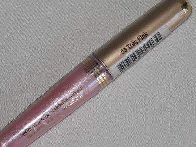 MILANI Lip Gloss #03 TRES PINK Beauty Shimmer LiGHt PiNk Lipgloss NEW & SEALED
