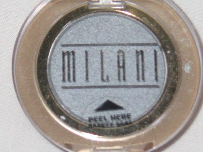 MILANI EyE Shadow Compact #12 SILVER BULLET Silver Shimmer Eyeshadow NEW SEALED