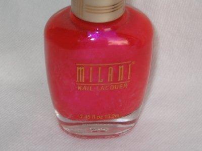 MILANI Nail Polish  #10 PYRAMID PASSION PINK an Iridescent Vibrant Pink Shade